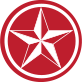 Red Texas Star icon